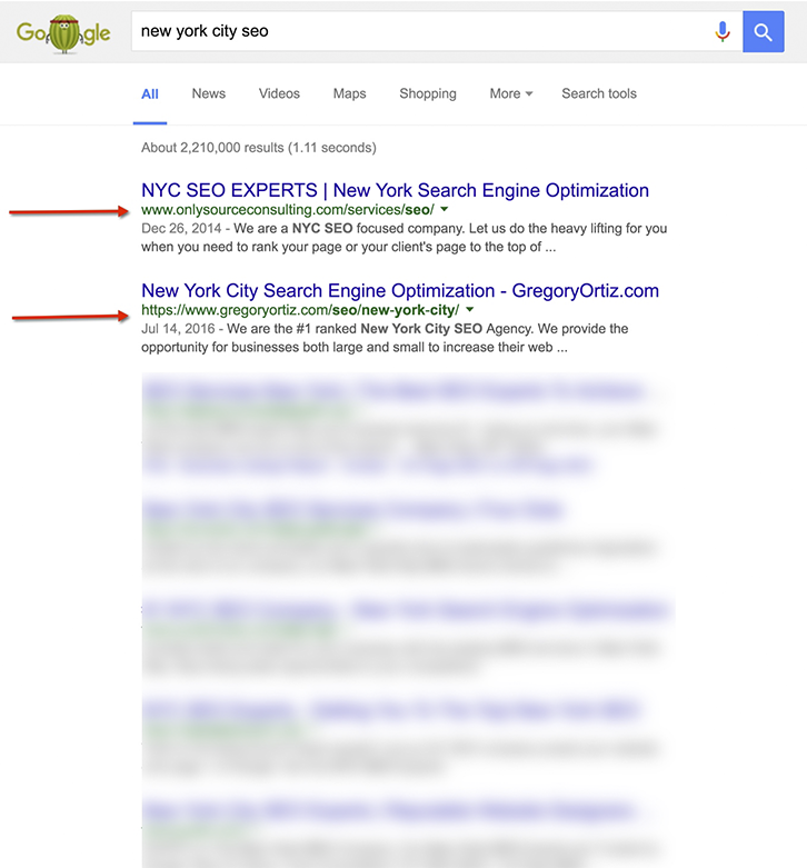 new-york-city-seo-rankings